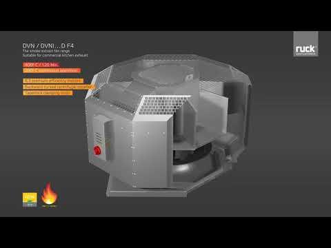Даховий вентилятор димовидалення від Ruck Ventilatoren GmbH
