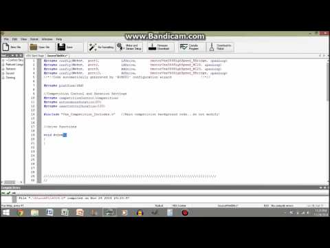 RobotC Programming Tutorial #01: Getting Started & Basic Functions