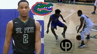 5'9 UF Football Commit Jalynn Williams Clowns Defenders on the Court!