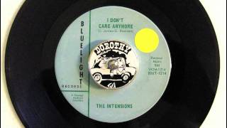 The Intensions - I Don't Care Anymore