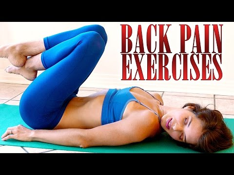Video Back Pain Relief Exercises & Stretches – How To Relieve Back Pain At Home