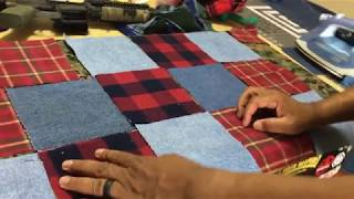 Starting The Tough Guy Quilt!