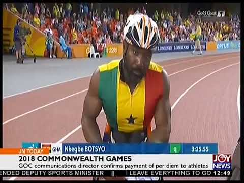 2018 Commonwealth Games - Joy Sports Today (13-4-18)