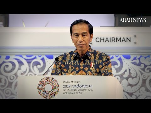 Indonesian President Says Trade Wars Too Destructive