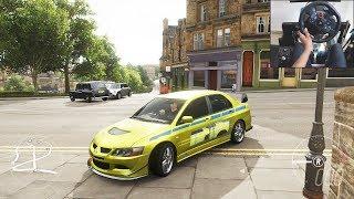 Mitsubishi Evo VIII MR - Forza Horizon 4 | Logitech g29 gameplay