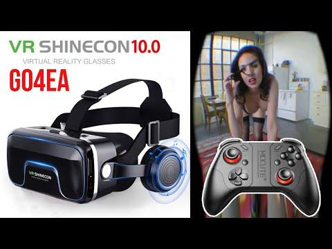VR SHINECON 10 - GO4EA + ГЕЙМПАД - ЧТО МОГУТ ОЧКИ ВИРТУАЛЬНОЙ РЕАЛЬНОСТИ С АЛИЭКСПРЕСС