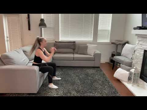 Couch Squat to Jump