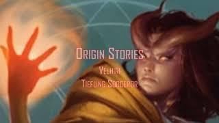 D&D backstory - Velhiri - Tiefling Sorceror