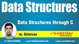 Introduction to Data Structures through C   Data Structures Tutorial   Mr. Srinivas