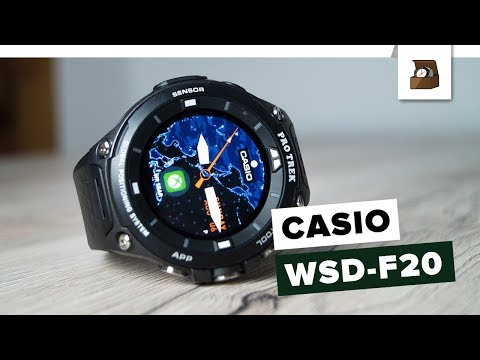 CASIO PROTREK WSD-F20 // Deutsch // Review // FullHD