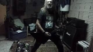 JUDAS PRIEST - Cathedral Spires (Jugulator 1997) Rhythm guitar cover by Julio Blackening.