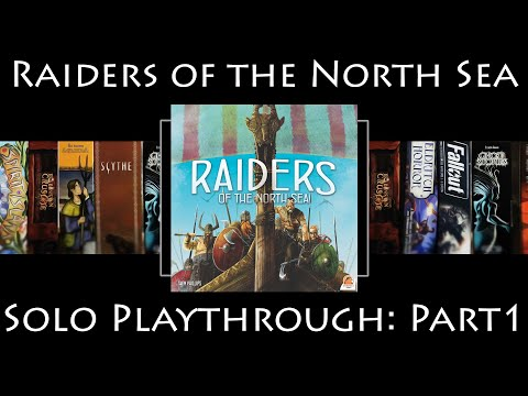 Raiders of the North Sea: Rules Overview & Solo Playthrough | Part 1