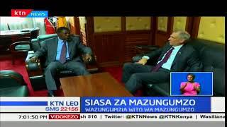 Siasa za Mazungumzo:Balozi Godec,akutana na Mbadi,Wetangula ilikupata suluhu mwafaka