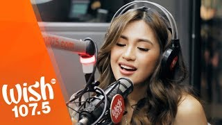 "Julie Anne San Jose performs ""Nothing Left"" LIVE on Wish 107.5 Bus"