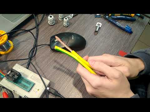 Делаю кабель заземления для мачты антенны