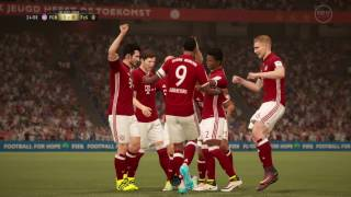 FIFA 17 Ultimate Team COOP DRAFT - CRAZY ROBBEN FREEKICK forces opponent to quit-