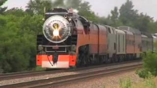 SP4449 Steam Locomotive at St Cloud MN