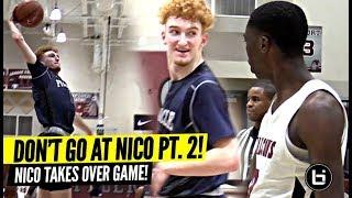 DON'T TALK TRASH TO NICO MANNION! Down 16 Nico TAKES OVER GAME!!