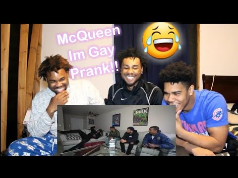 I'M GAY PRANK ON ZIAS AND B-LOU!!! *GONE WRONG* REACTION!!