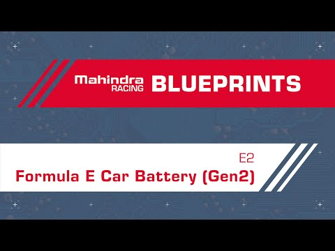 Formula E Car Battery (Gen2) | Episode 2 | Blueprints by Mahindra Racing ft. Nicki Shields