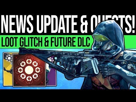 Destiny 2 | NEWS UPDATES & FUTURE CONTENT! Armor Exploit, Secret Quest, ARC Preview & DLC Reveals!