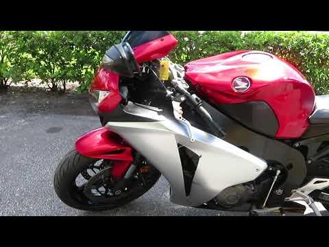2010 Honda CBR®1000RR in Sanford, Florida - Video 1
