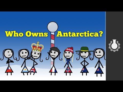 Kdo vlastní Antarktidu?