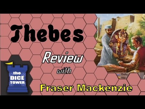 [Dice Tower] Fraser Reviews: Thebes