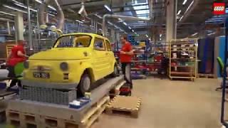 Fiat 500: Lego rende omaggio a un'icona made in Italy