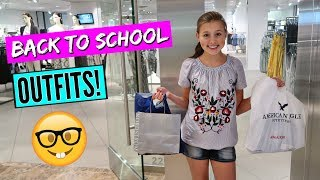 BACK TO SCHOOL SHOPPING WITH MY MOM! TEEN OUTFITS 2018!