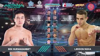 Fight Card Astana Arlans 26 MAY 2018 WSB