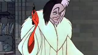 101 Dalmatians Cruella De Vil's Outburst Scene