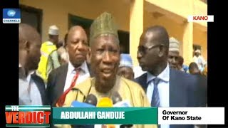 Elections: Ganduje Casts Ballot In Kano