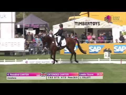 Ros Canter & Zenshera Dressage Leg 1 Chatsworth House 2018