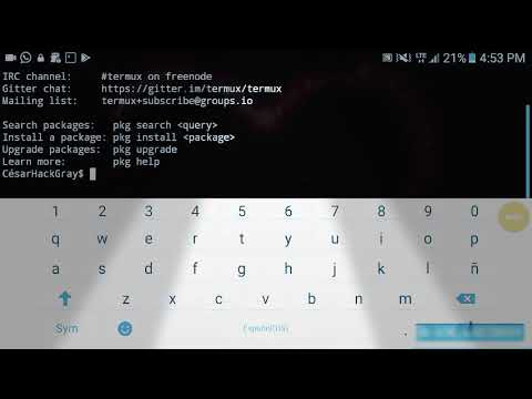 Hack WiFi WPA/WPA2-PSK Using Termux Android - смотреть онлайн на Hah