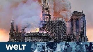 """""""DAS HERZ IN ASCHE!"""" - Frankreich Entsetzt über Brand In Notre-Dame"""