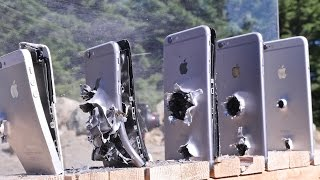 How Many IPhones Does It Take To Stop An AK74 Bullet