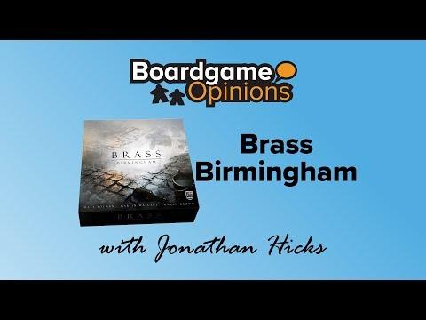 Boardgame Opinions: Brass: Birmingham