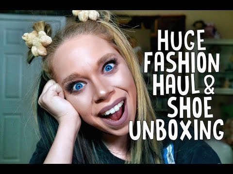 HUGE FASHION HAUL & SHOE UNBOXING! – DOLLS KILL