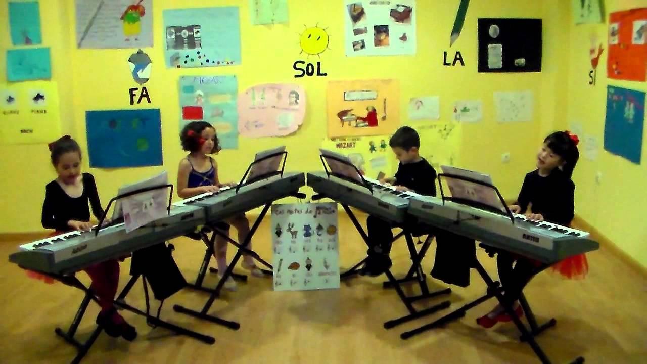 Papageno y Papagena - Grupo de alumnos de Mi Teclado 1 - Sinfonía Musical