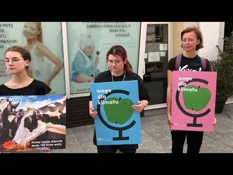 Wideo1: Wege dla klimatu - akcja aktywistów z Fundacji Viva!