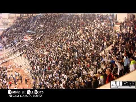 """""""Himno de All Boys (Negro Garcia Lopez)"""" Barra: La Peste Blanca • Club: All Boys"""