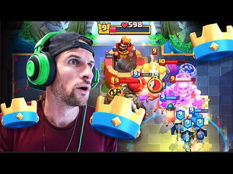 REALLY... 3 CROWNS ARE THIS EASY in CLASH ROYALE!?
