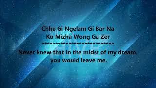 Bhutanese song |Jowai Lam Mathong |Tempa Rinchen (with english translation).