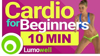10 Minute Cardio for Beginners - Low Impact Workout