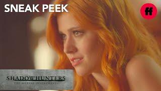 Shadowhunters | Season 1, Episode 10 Sneak Peek: Magnus Reads Clary's Tarot Cards | Freeform