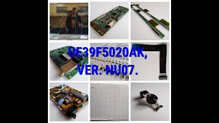 Плата MAIN BN41-01955B, BN94-06996P для телевизора Samsung UE39F5020AK от компании art-techservice - видео