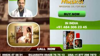 Muskol Pleasure Massage Oil For Men