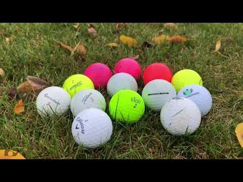 Golfbälle - ein Teil der Ausrüstung, den viele Spieler unterschätzen!