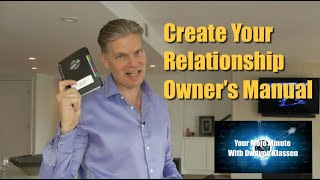 Create Your Relationship Owner's Manual